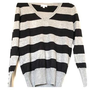 Ambiance Women's V-neck Sweater